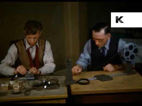 1950s UK Cine Club, Amateur Filmmakers, 16mm