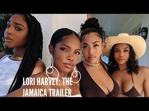 Anjali Queen B - Lori Harvey Drops Birthday Trailer with Besties & Bae Future in Jamaica