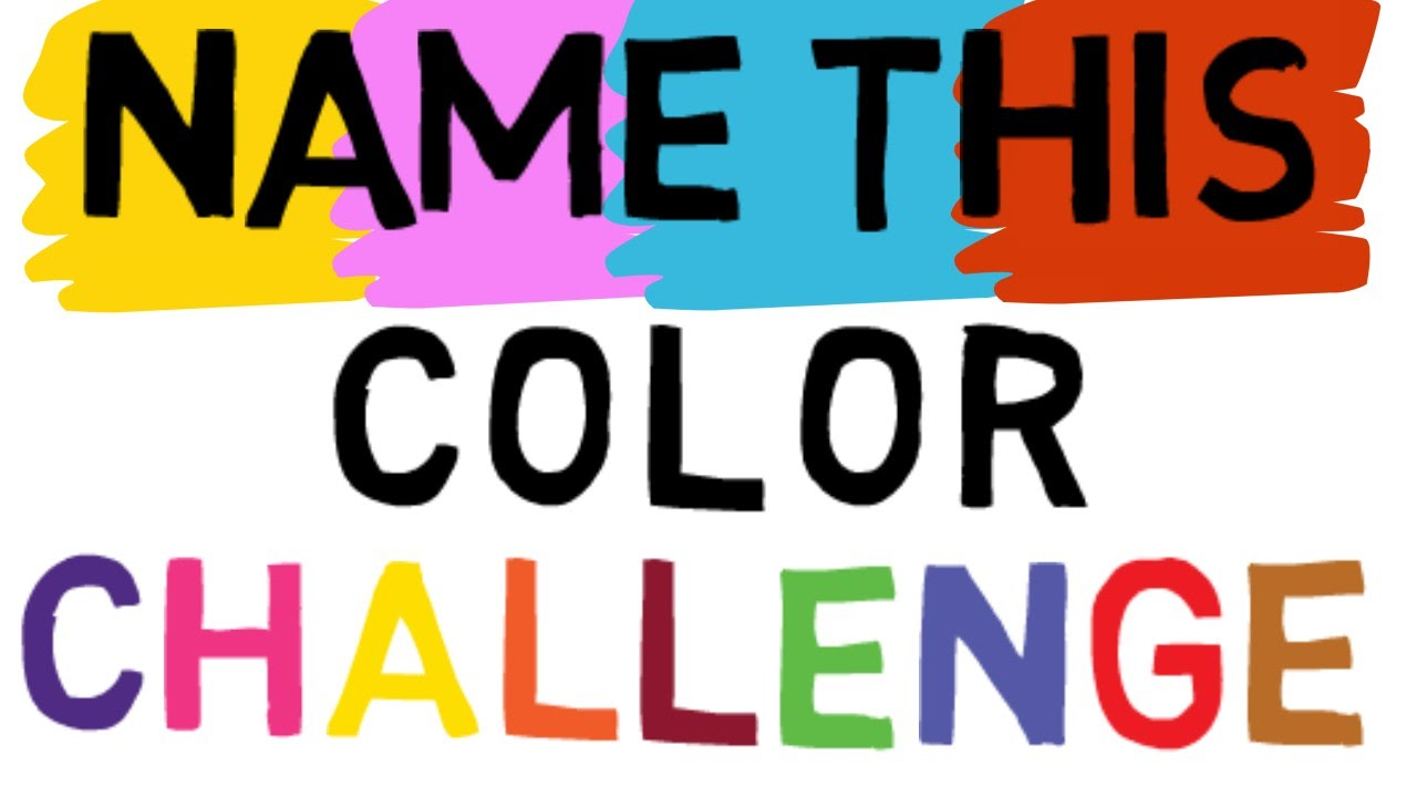 CHALLENGE VIDEO: Say the COLOR and not the WORD | Right Brain vs ...