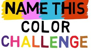CHALLENGE VIDEO: Say the COLOR and not the WORD   Right Brain vs Left Brain Challenge - Color Test