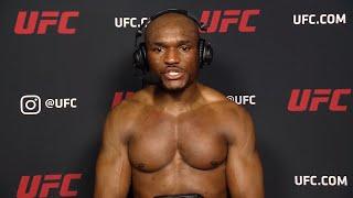 UFC 258: Камару Усман - Слова после боя