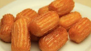 Receta turca de postre de Tulumba - Masitas dulces fritas con sirope