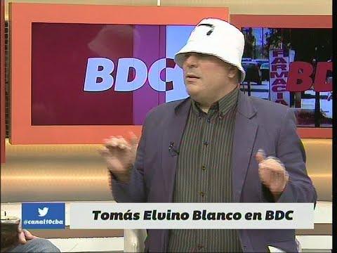 """Tomás Elvino Blanco en Bien De Córdoba (BDC), un personaje de Marcelo """"El Coto"""""""