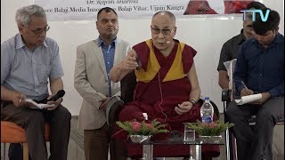 His Holiness the Dalai Lama Graces 3rd Anniversary of Himachal Abhi Abhi, Balaji Vihar, Kangrav