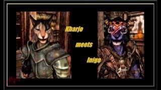 SKYRIM Kharjo meets Inigo