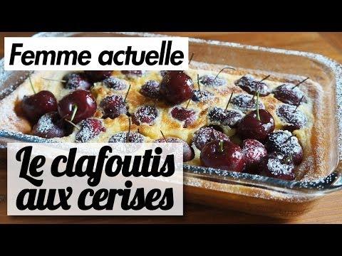 le-clafoutis-aux-cerises---recette-de-chef