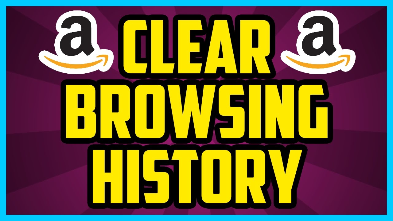 Amazon How To Clear Browsing History 2017 (fast)  Amazon Delete All Browsing  History Tutorial