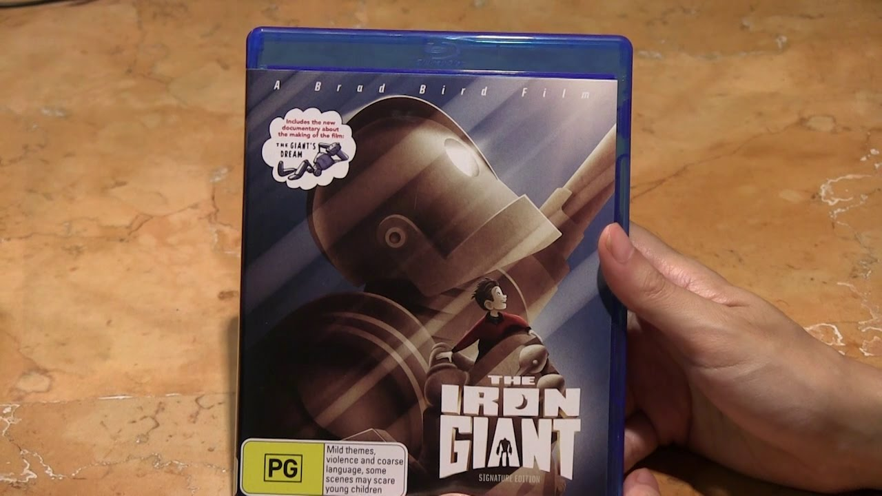 Download The Iron Giant Signature Edition Blu Ray