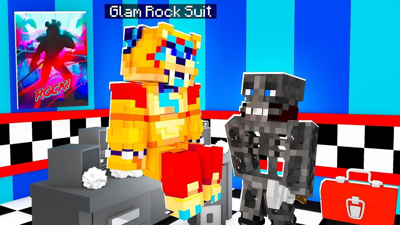Glamrock's Suit Upgrade | Minecraft Five Nights at Freddy's FNAF Roleplay
