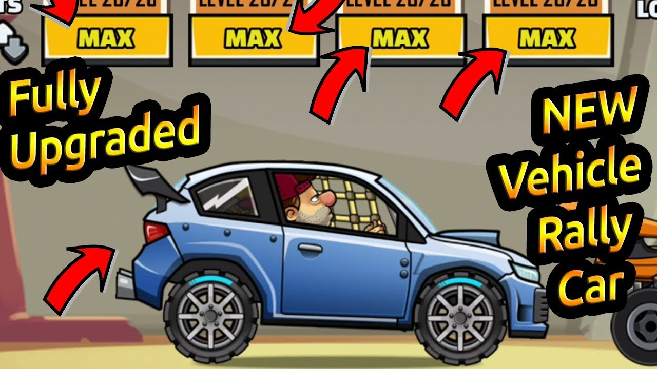 How To Get Rally Car In Hill Climb Racing