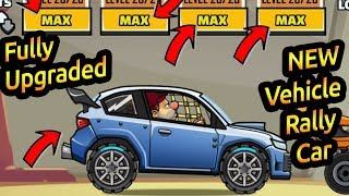 Hill climb racing 2 new vehicle rally car fully upgraded