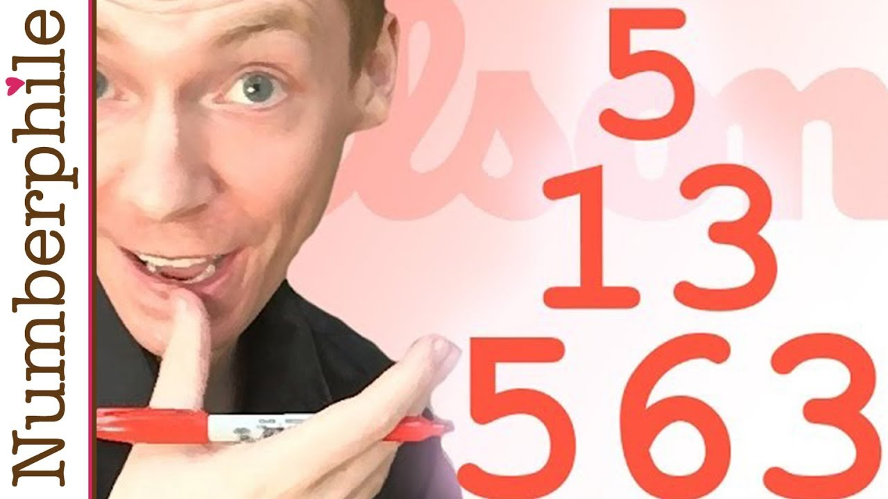 what do 5 13 and 563 have in common youtube