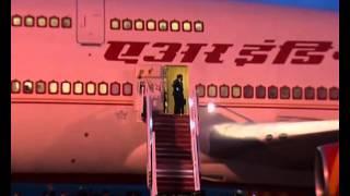 PM arrives at Bunga Raya,  Kuala Lumpur Airport