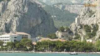 Omis und das untere Cetina-Tal (Kroatien-Dalmatien)