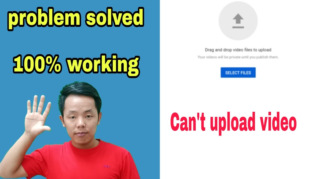 How To Fix Youtube Video Uploading Problem on Chrome Browser !! In Nepali