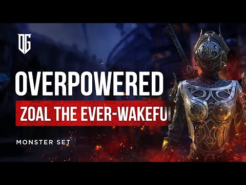 💪 OVERPOWERED! ESO IC Monster Helm Zoal the Ever Wakeful |