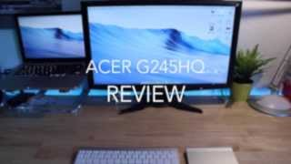 acer G245HQ Review! (deutsch)