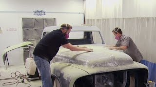 '55 Ford F100 Body Mockup & Paint Prep  - Truck Tech S3, E2