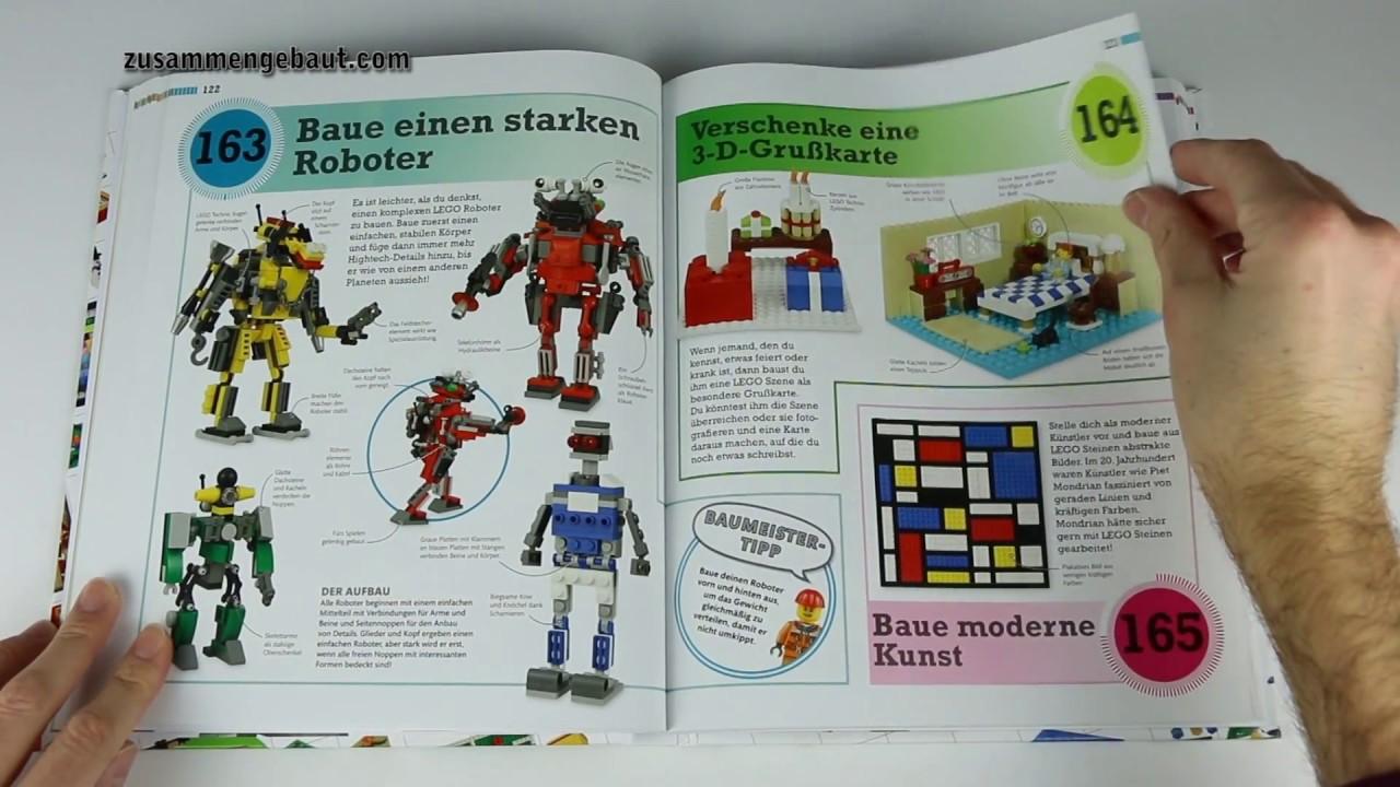 365 ideen für deine lego steine: durchgeblättert! - youtube