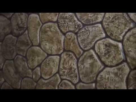 декоративная штукатурка под дикий камень