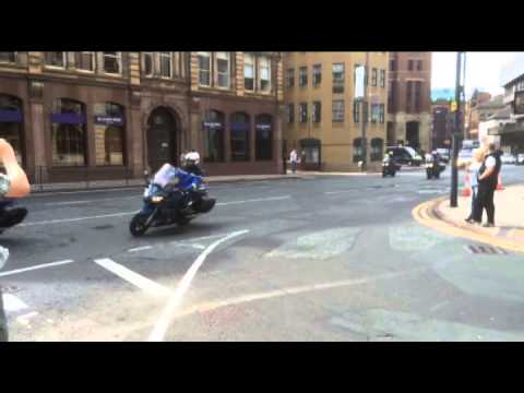Gendarmes Convoy - Yorkshire Post video