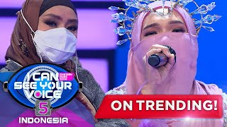 Standing Ovation Betrand Peto Putra Onsu Untuk Laila Canggung!  - I Can See Your Voice Indonesia 5