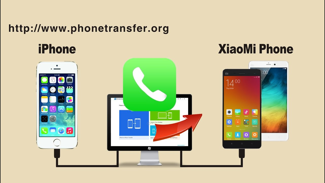 Xiaomi Mi Redmi Phone How To Transfer Call Logs From Iphone To Xiaomi Mi Redmi Phone Youtube