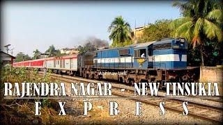 FIRST VIDEO Of Rajendra Nagar - New Tinsukia Express With LHB Rake   RSA With ZIYARAT EXPRESS   GHY