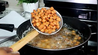Chinchin / Nigerian snack/ African food Recipes. how to make chin chin (Back To School Series)