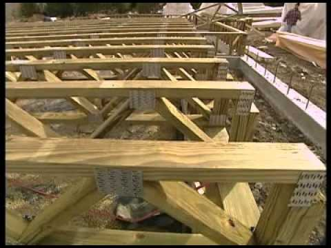Raised floor foundation case study youtube for Elevated floor
