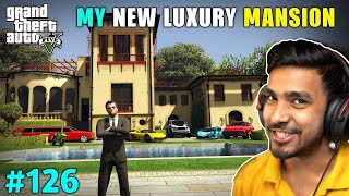 MICHAEL'S NEW HOUSE AS A GIFT | GTA V GAMEPLAY #126