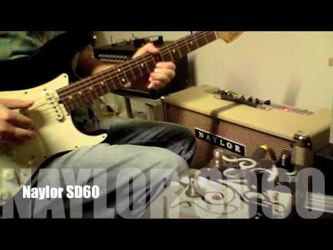 Naylor SD60 2*12 Combo With Celestion G12-65
