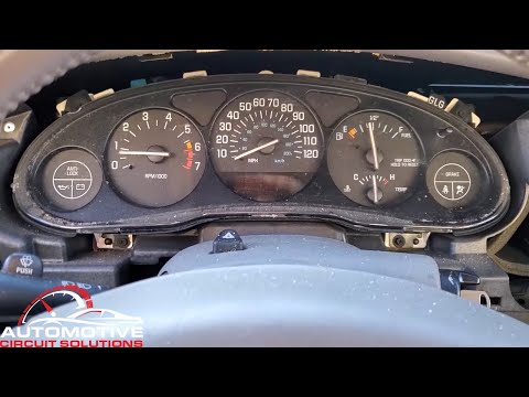 Buick Regal Century 1997-2004 Dead Odometer Display | How To Remove Gauge Cluster IPC For Repair