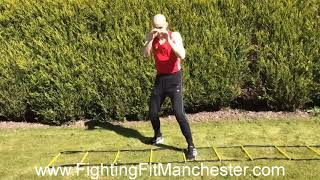Shadow boxing volume drill