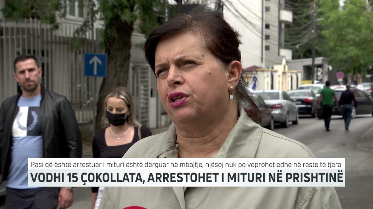Vodhi 15 çokollata, arrestohet i mituri në Prishtinë
