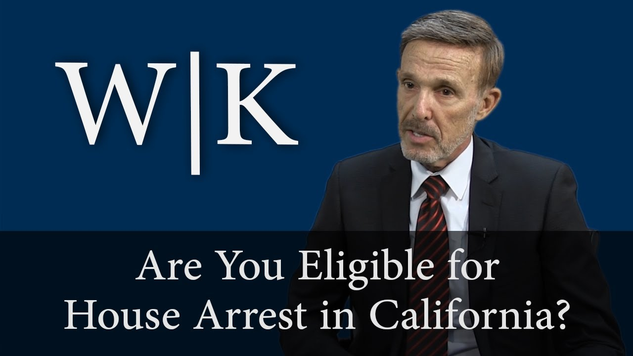 Who qualifies for Home Confinement in California?