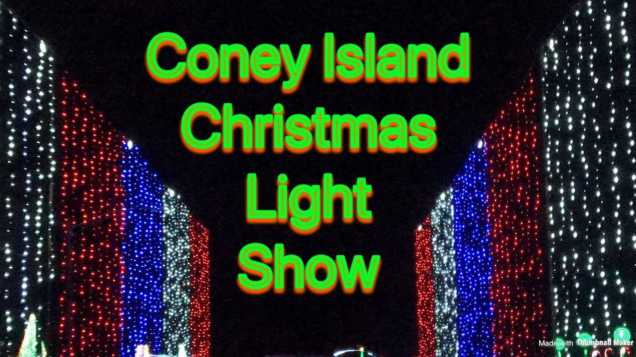 Coney Island Christmas.Coney Island Cincinnati Ohio Christmas Light Show Take A Ride With Smith 5