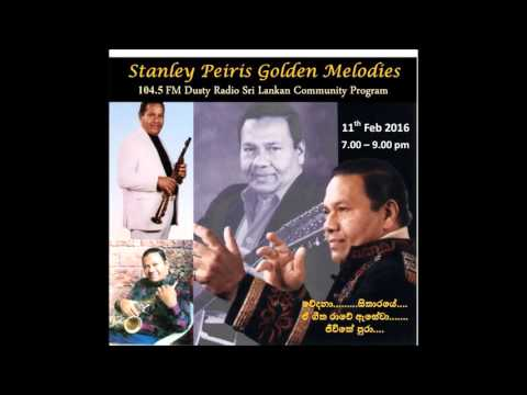 Stanley Pieris' Golden Melodies, Dusty Radio Sri Lankan Comm