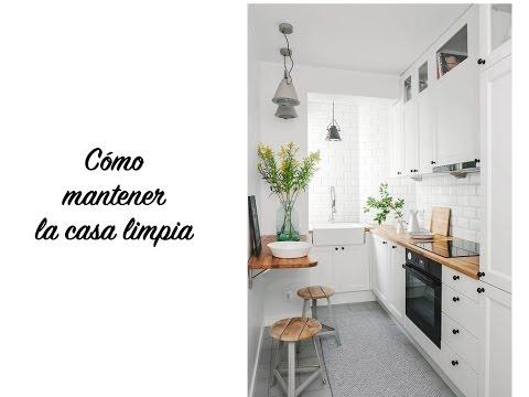 Como mantener la casa limpia y ordenada youtube - Como mantener la casa limpia ...