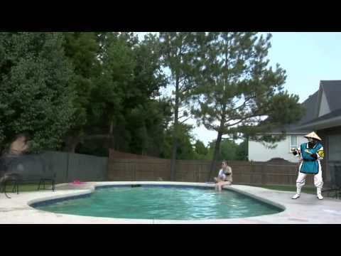 Epic Pool Jump FAIL