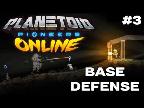 Planetoid Pioneers Online - BASE DEFENSE Game Mode Showcase #3 Of 12