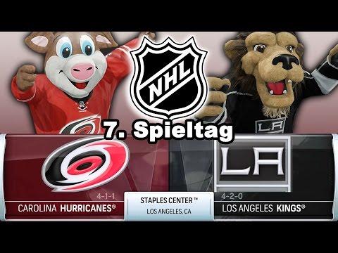 NATIONAL HOCKEY LEAGUE [NHL][60fps][Deutsch] #007 - Los Angeles Kings - Carolina Hurricanes ★