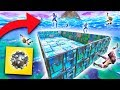 PLAYING IMPULSE DODGEBALL ON A SKY BASE! | Fortnite Battle Royale Custom Games