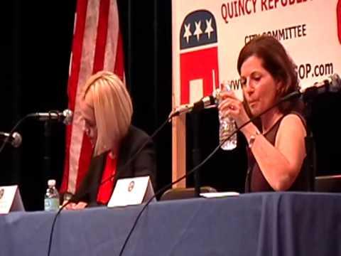 Quincy Election 2015: Kirsten Hughes vs Gina Ostis   Ward 5   Oct 26