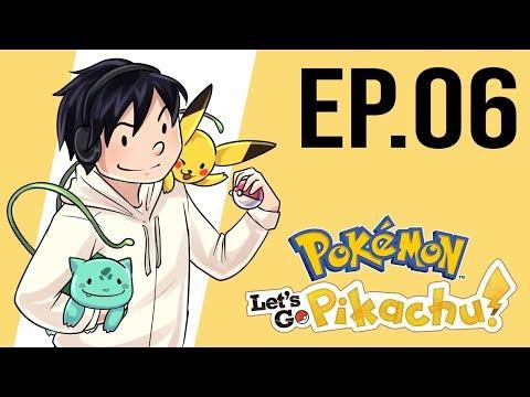 ¿Tanto tiempo en la cueva?   Pokemon Let's Go Pikachu ep.06