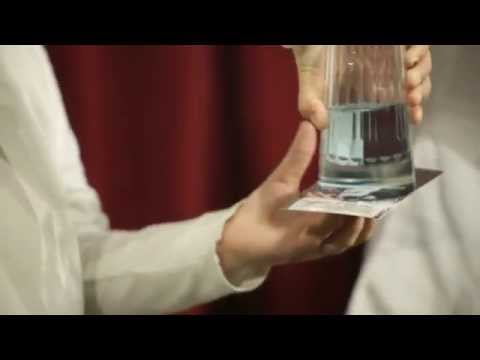 Science Magic You Can Do: Anti-Gravity Water using Air Press