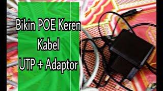Tutorial Membuat POE (Power over Ethernet) Dari Kabel UTP