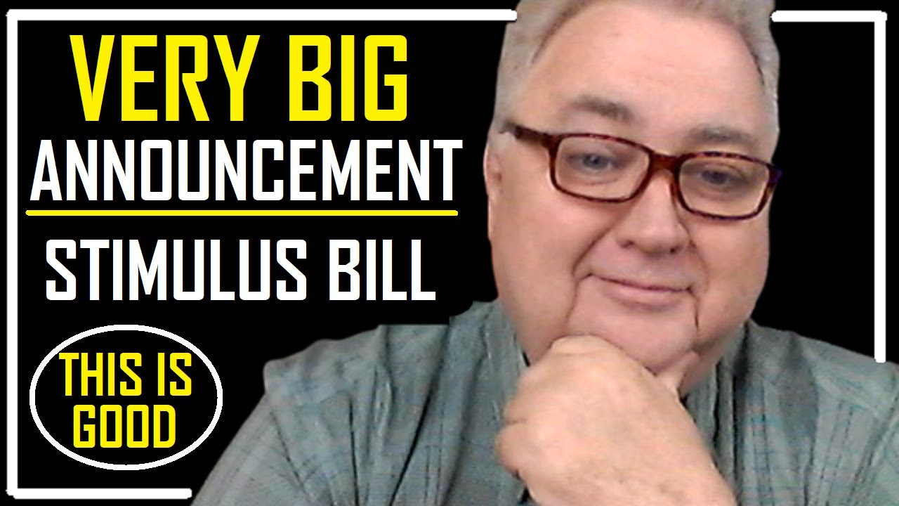 VERY BIG ANNOUNCEMENT | STIMULUS PACKAGE | MORE