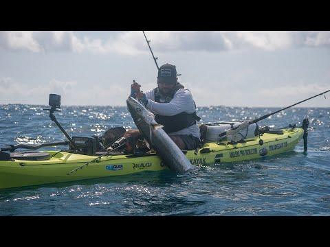 BIG King Mackerel Offshore Kayak Fishing | Texas Coast