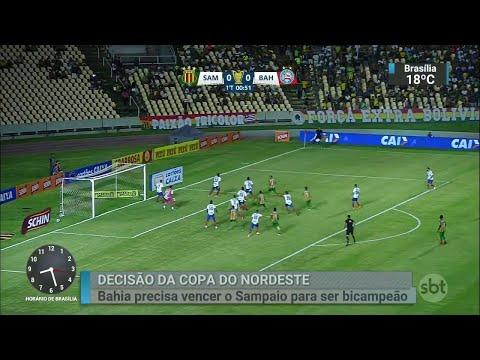 Bahia e Sampaio Corrêa disputam segundo jogo da decisão neste sábado | SBT Brasil (06/07/18)
